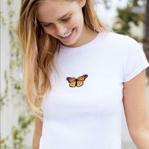 Brandy Melville butterfly top